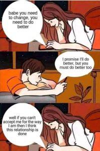 Why did we breakup