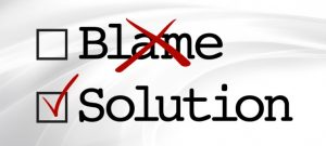 Don't look for blame